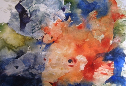 Watercolour Fish